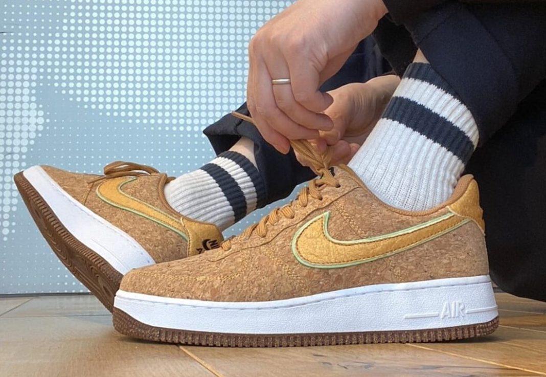 Nike,Air Force 1  罕见软木塞配色!Nike Air Force 1 全新配色实物曝光!
