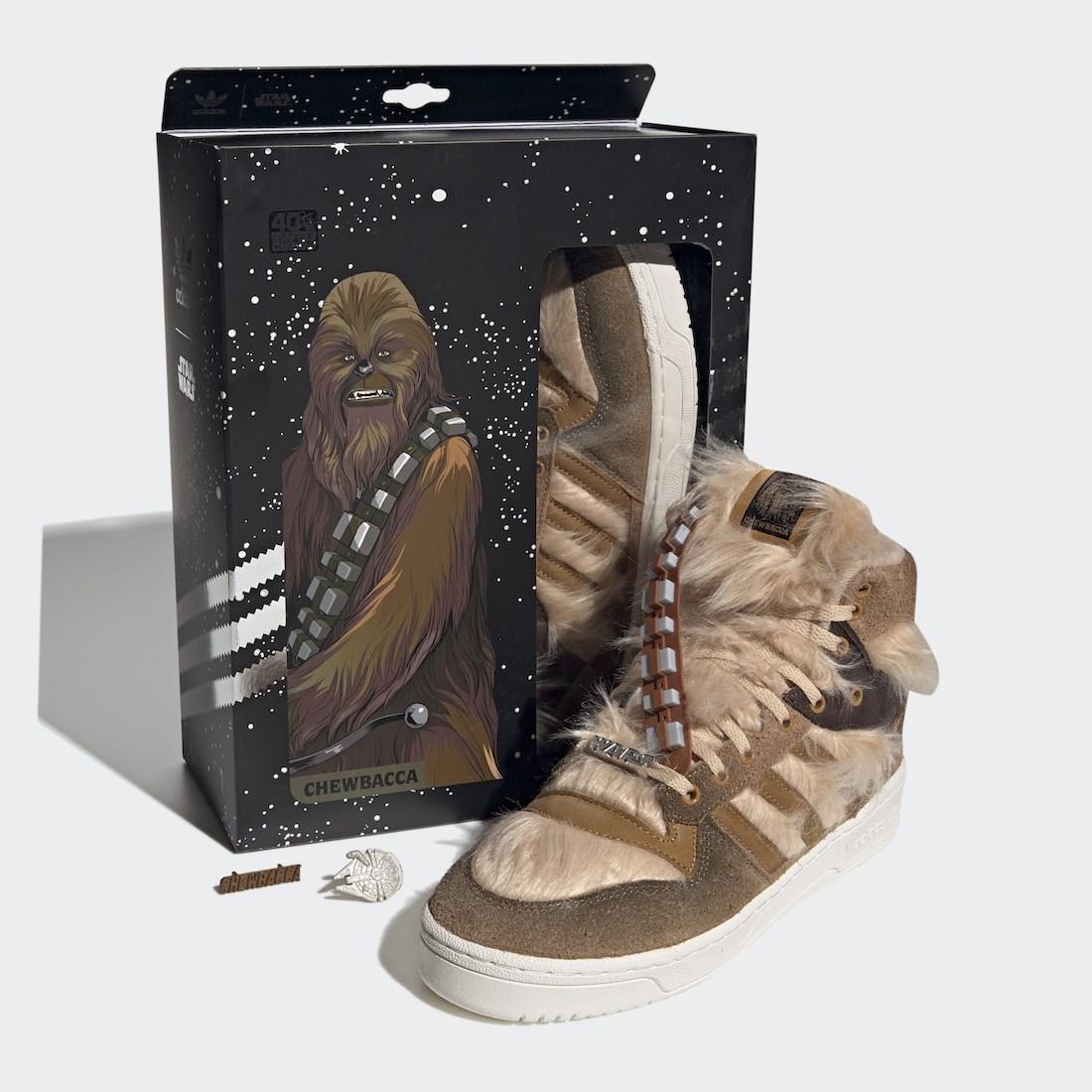 adidas,Rivalry Hi,Chewbacca,FX  「楚巴卡」再度归来!adidas Rivalry Hi 即将发售!