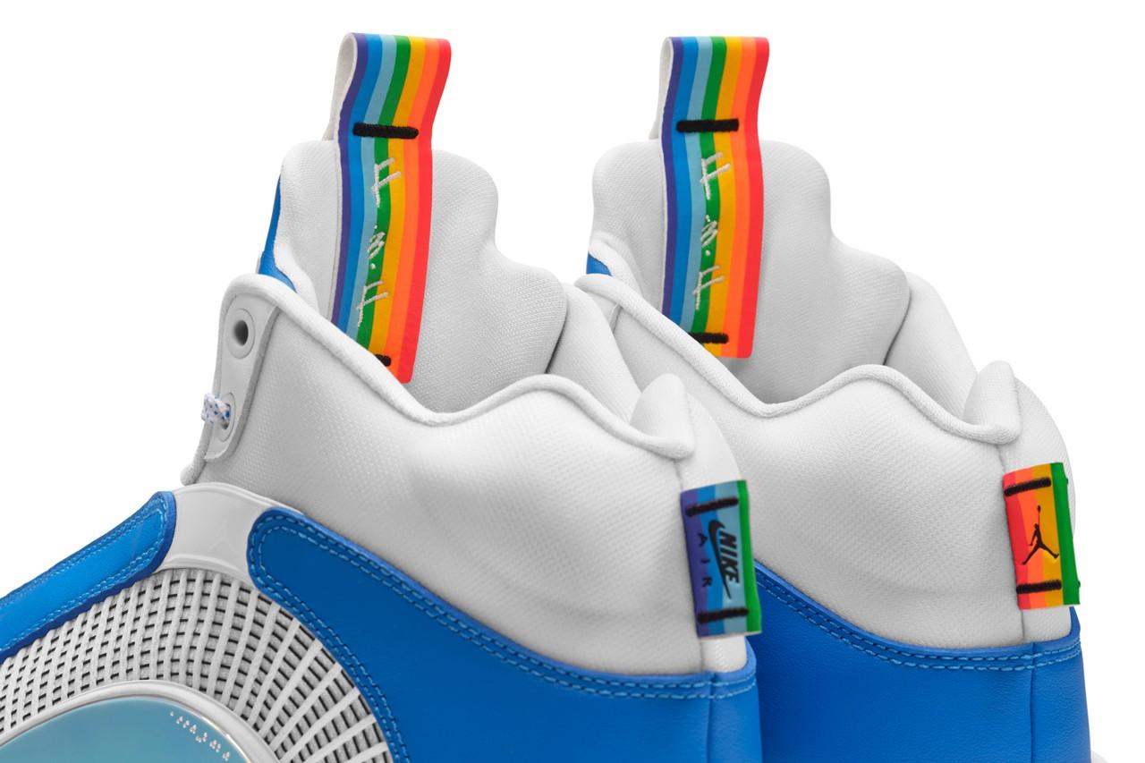 Air Jordan 35,AJ35,McLovin  格里芬把驾照印在鞋上!全新配色 Air Jordan 35 真是太怪了!