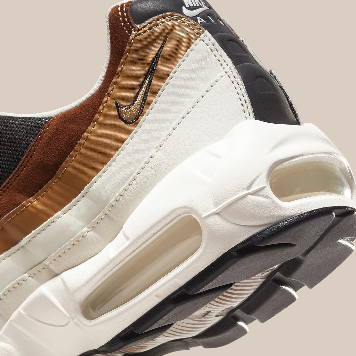 Nike,Air Max 95  大地色系装扮!全新配色 Air Max 95 官图曝光!