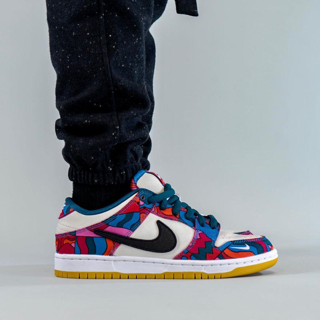 Parra,Nike,SB Dunk Low,发售  Parra x Nike 又来了!全新联名 SB Dunk 上脚首次曝光!