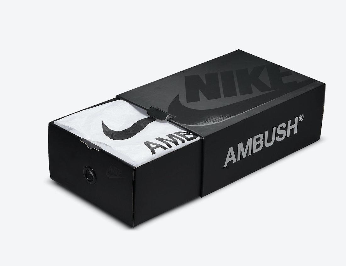 Dunk Hi,Nike,AMBUSH,Deep Royal  今早发售!「小闪电」AMBUSH x Dunk Hi 市价翻倍!
