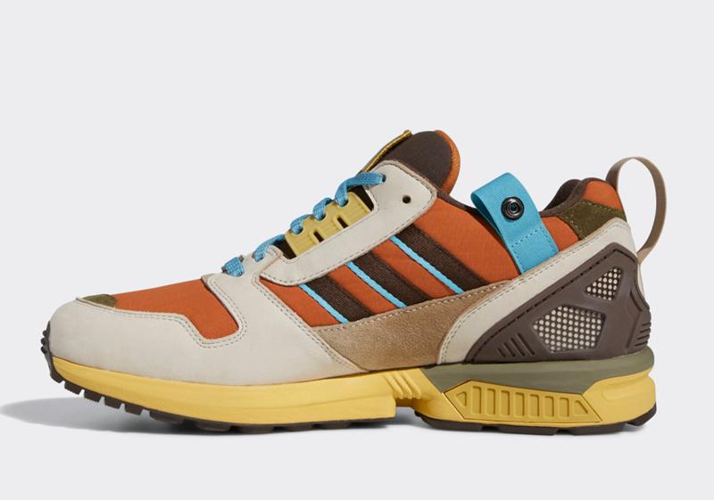 adidas,黄石国家公园,ZX 8000  讨喜大地色调!黄石国家公园 x adidas 联名即将发售!