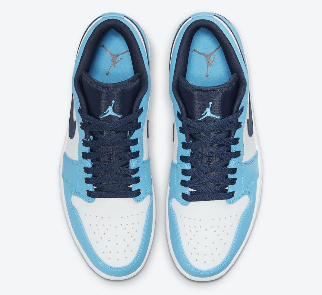 北卡,蓝,来,了,全新,配色,Air,Jordan,Low,  北卡蓝来了!全新配色 Air Jordan 1 Low 官图曝光!