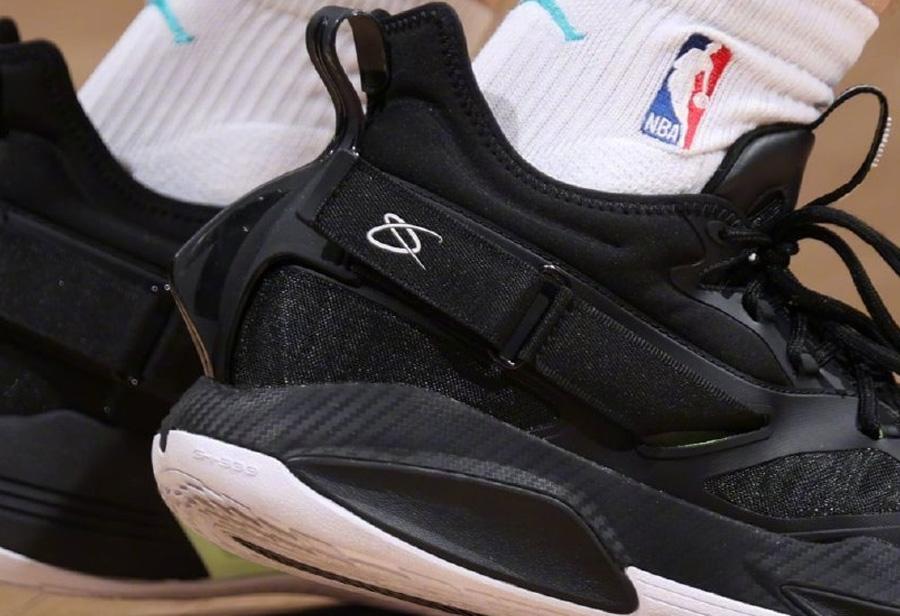 安踏,海沃德,GH3,GH2  鲨鱼鳍设计!「海沃德」上脚神秘新鞋!疑似下一代签名鞋曝光!