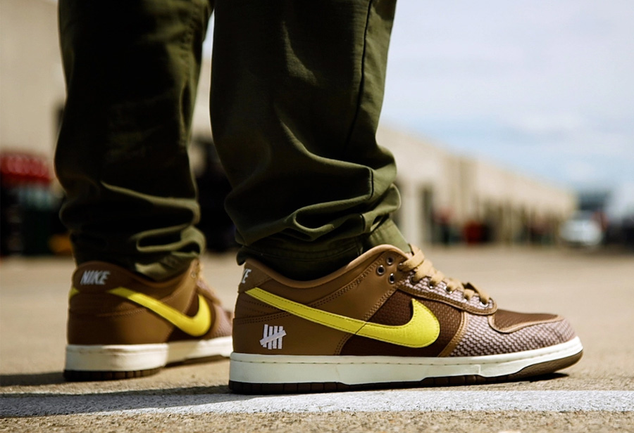 Undefeated,Nike,Dunk Low  实物首次曝光!UNDFTD x Dunk Low 近期即将发售!