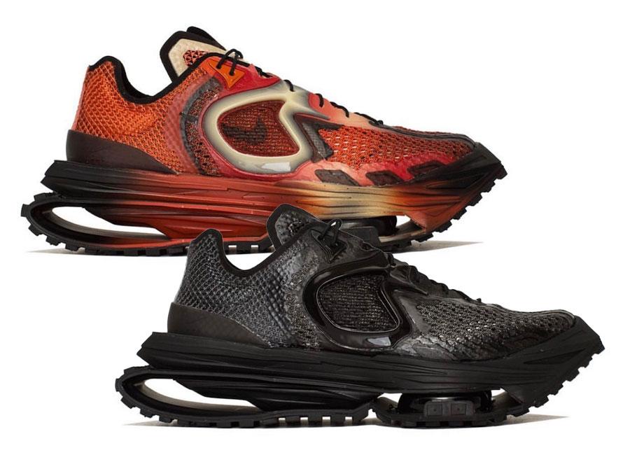 MMW,Nike,Zoom 004,DC7442-001,D  Nike「联名坦克鞋」两款新配色曝光!马上就发售!