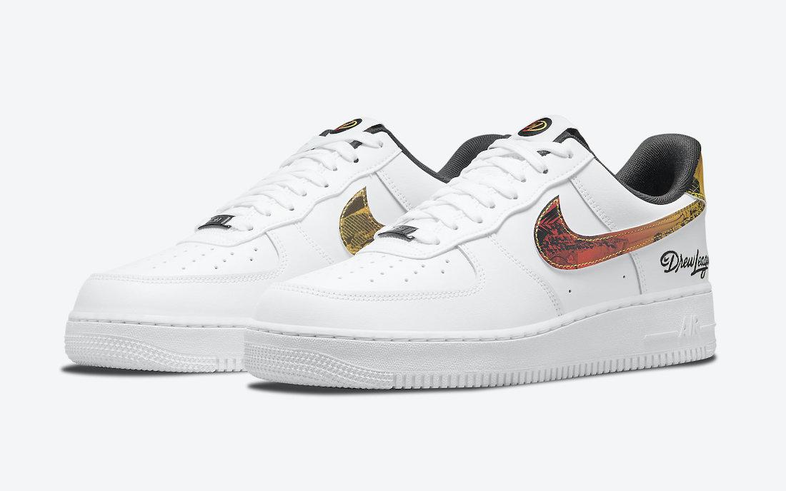 Nike,Air Force 1,AF1,DM7578-10  全新德鲁联赛 Air Force 1 官图释出!今年改动不小!