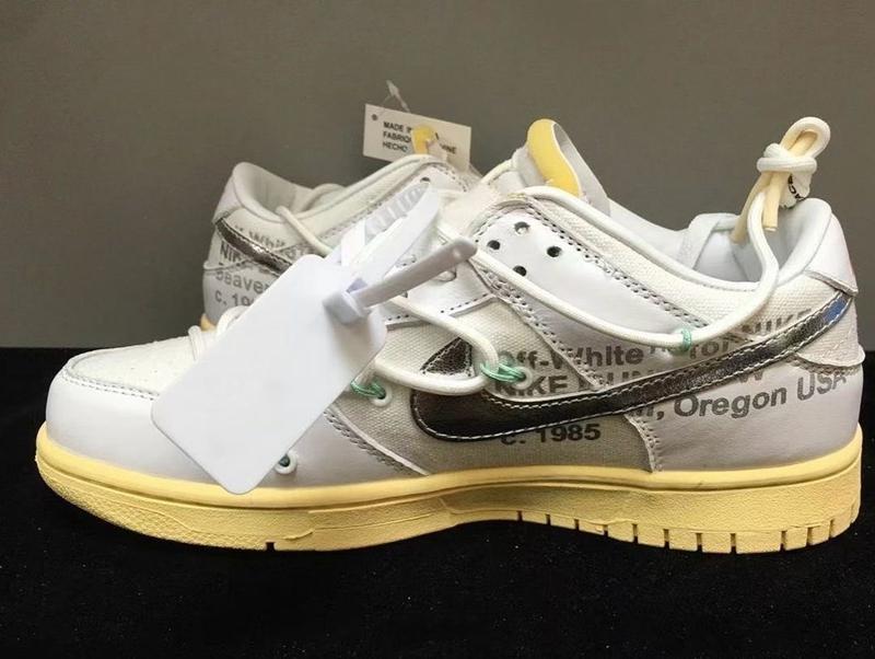 OFF-WHITE,Nike Dunk Low,The 50  太帅了!OW x Nike「Vibe 风」新配色曝光!等不及了!
