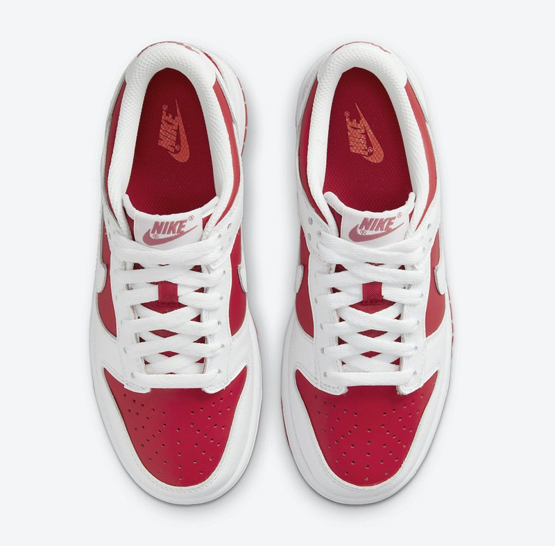 Nike,Dunk Low,University Red,D  白红搭配很讨喜!全新配色 Nike Dunk Low 官图释出!