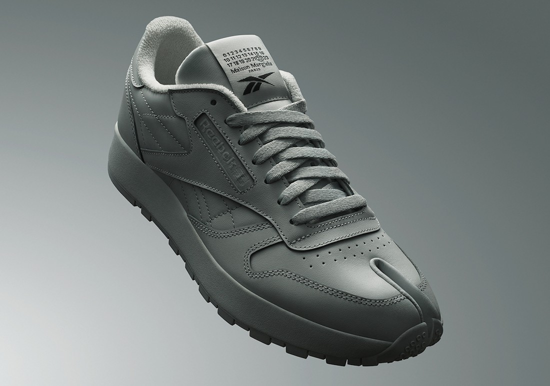 Reebok,Maison Margiela,发售  细腻皮革 + 复古造型!全新 Reebok 联名鞋即将发售!