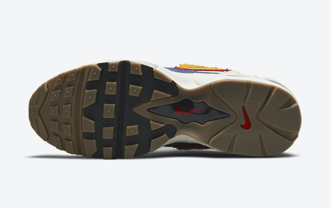 Nike,Air Max 96,发售  多材质拼接鞋身!这双 Air Max 96 II 还挺酷!