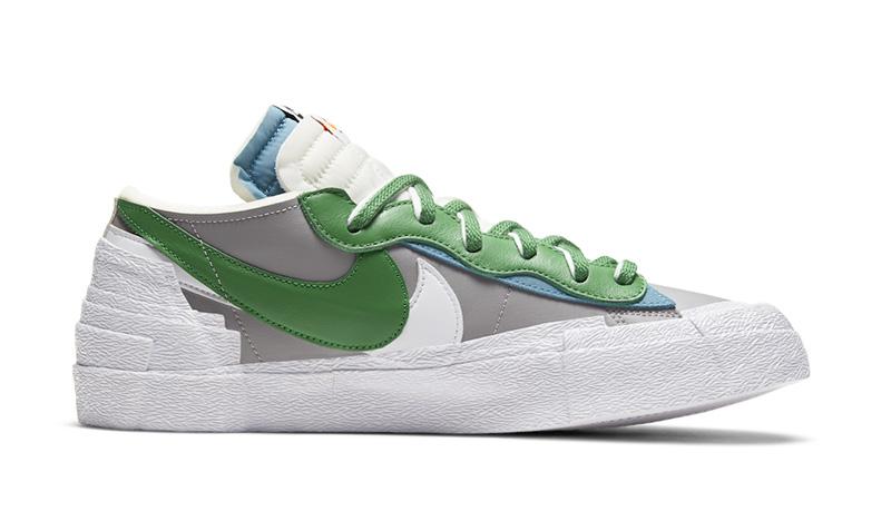 sacai,Nike,Blazer Low,DD1877-0  上半年「跳票王」终于来了!sacai x Nike 新联名官图曝光!