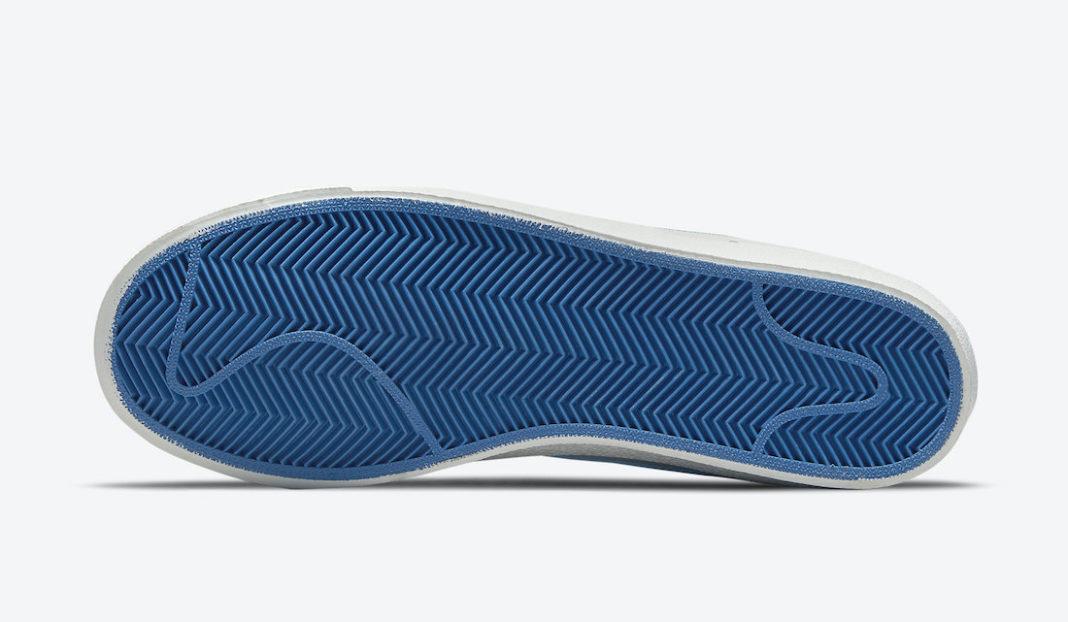 Nike,Blazer Mid '77,DH6757-001  金色勾子鞋带扣!全新配色 Blazer Mid 官图曝光!