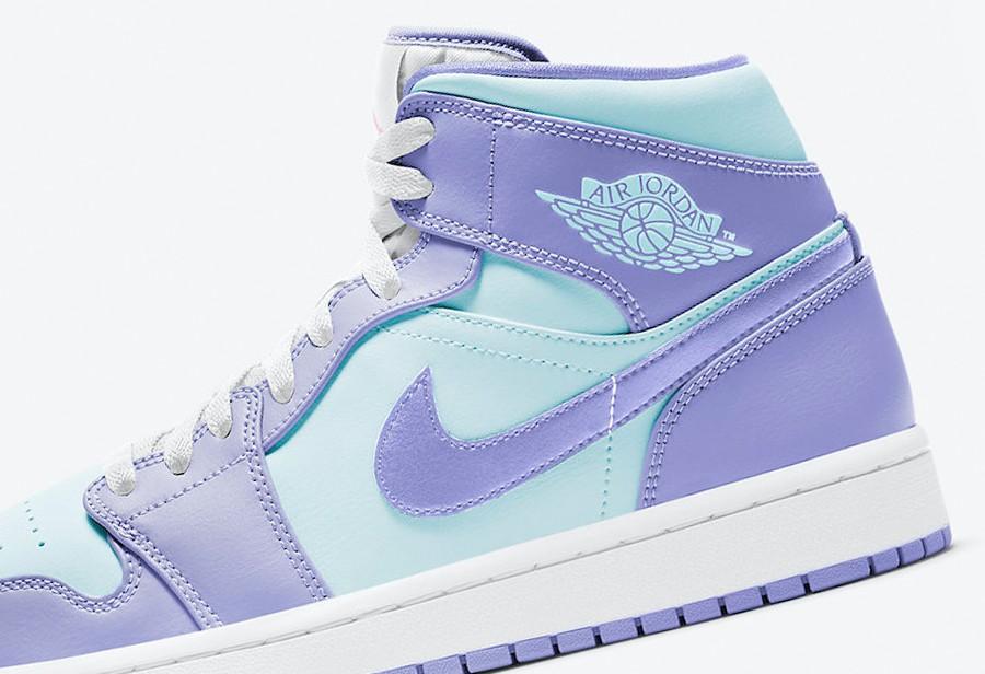 Nike,Air Jordan 1 mid,554724-5  小清新配色!全新 Air Jordan 1 Mid 即将发售!