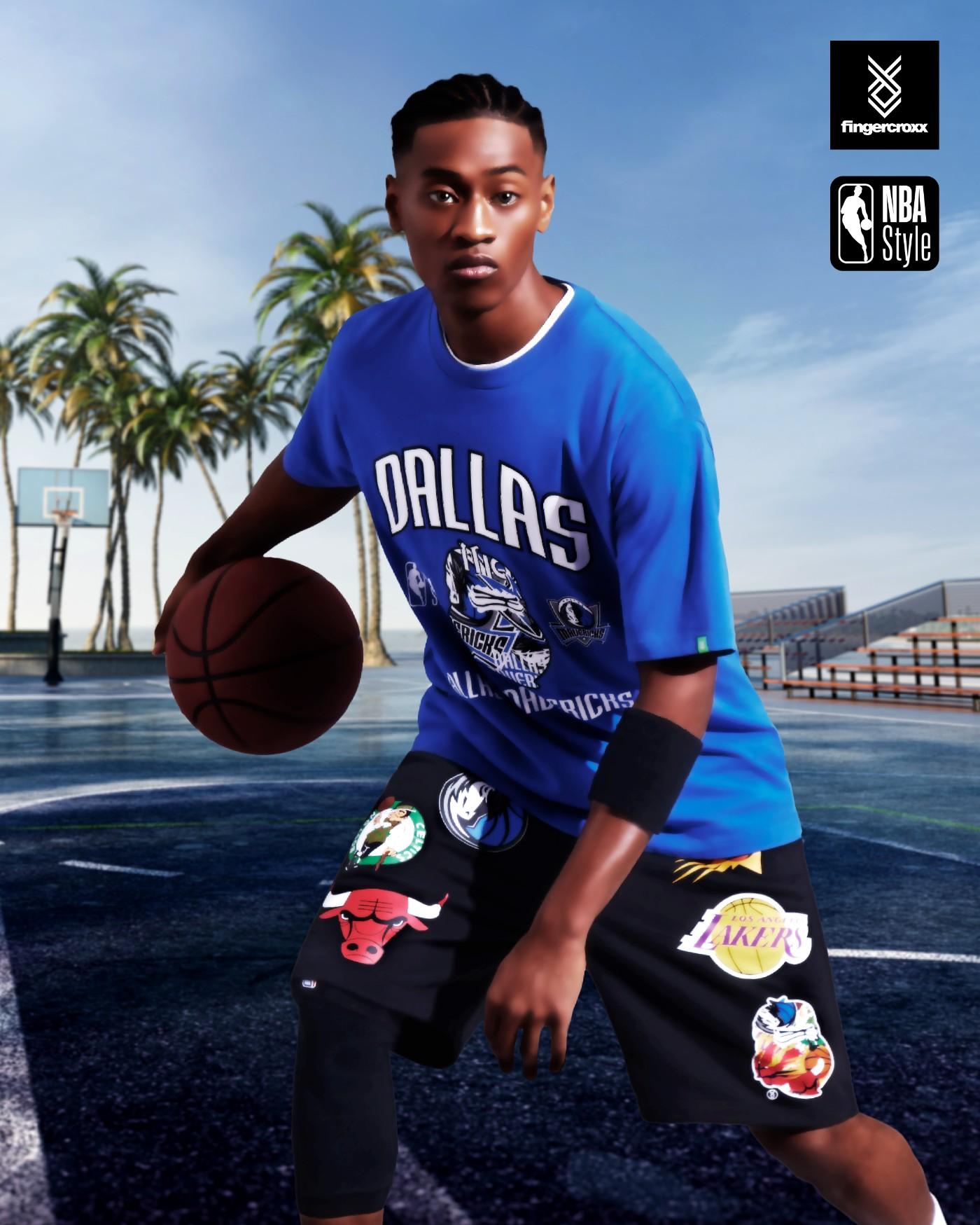 fingercroxx,NBA,发售  NBA 联名款服饰登场!穿上它给你最爱球队打 Call!