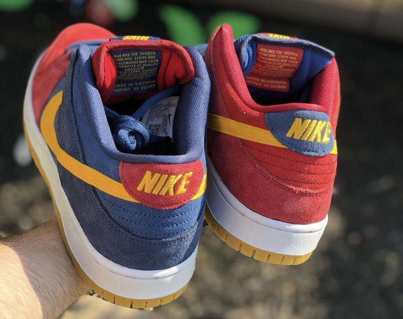 Nike,SB Dunk,Barcelona  辨识度一流!顶级豪门「巴萨」SB Dunk 实物曝光!必入款 +1