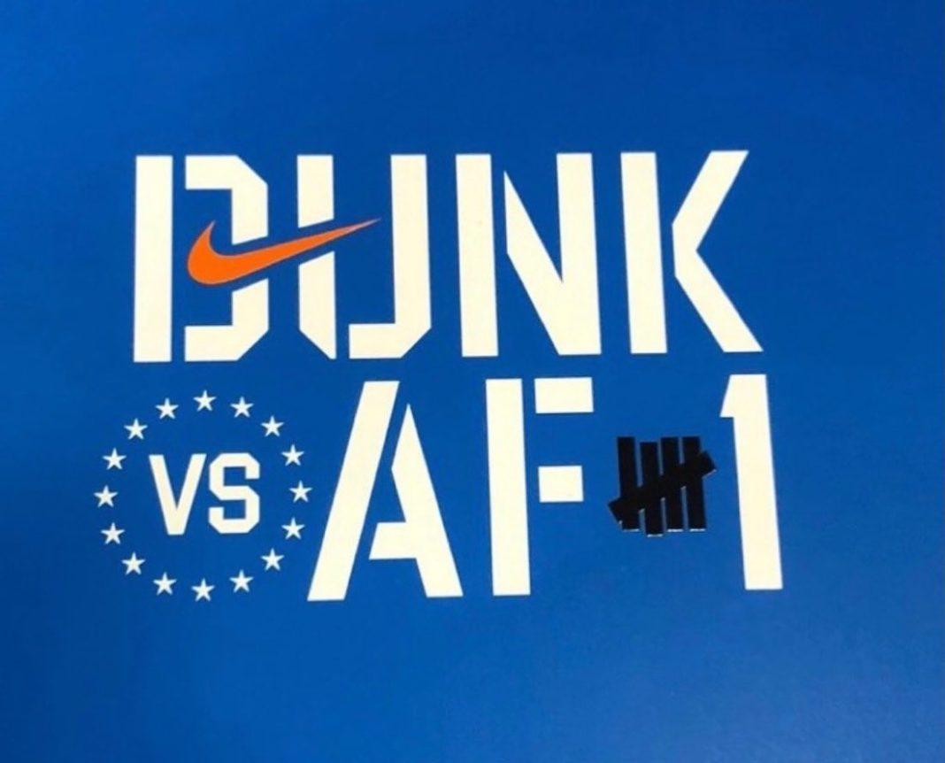 UNDFTD,UNDEFEATED,发售  两款 UNDFTD x Dunk 下月发售!今年还有联名 AF1!
