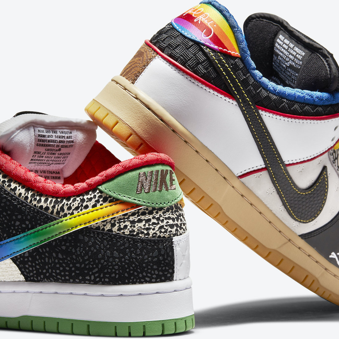 Dunk SB,Nike,发售  今早新 What The Dunk 你中了吗?一张图看懂所有细节!