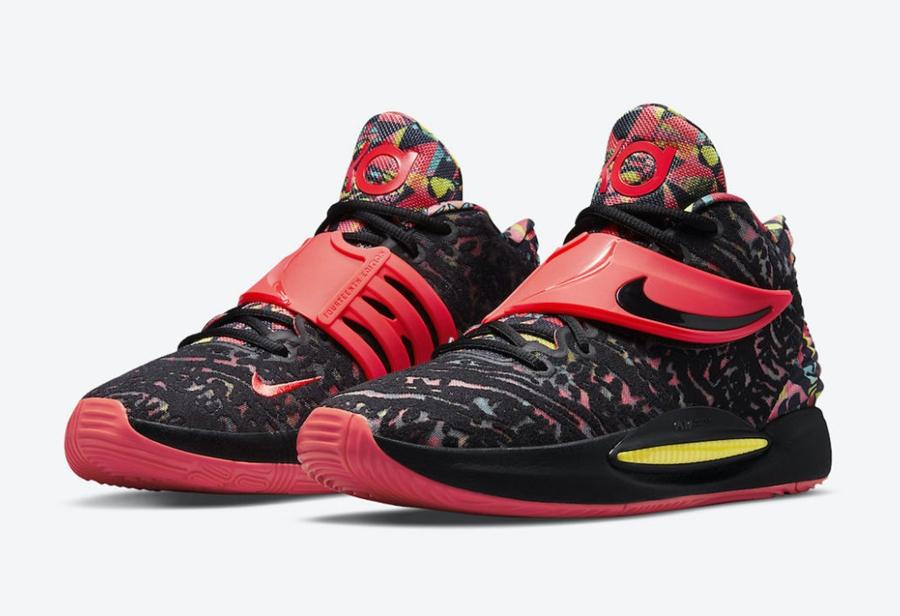 Nike,KD 14,Ky-D,CW3935-002  色彩缤纷细节满满!KD 14 全新配色即将登场!