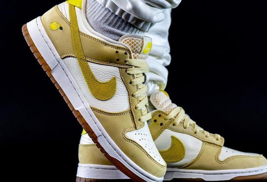 Nike Dunk Low,Lemon Drop,DJ690  真的酸了!「柠檬糖」Dunk Low 上脚来了,即将发售!