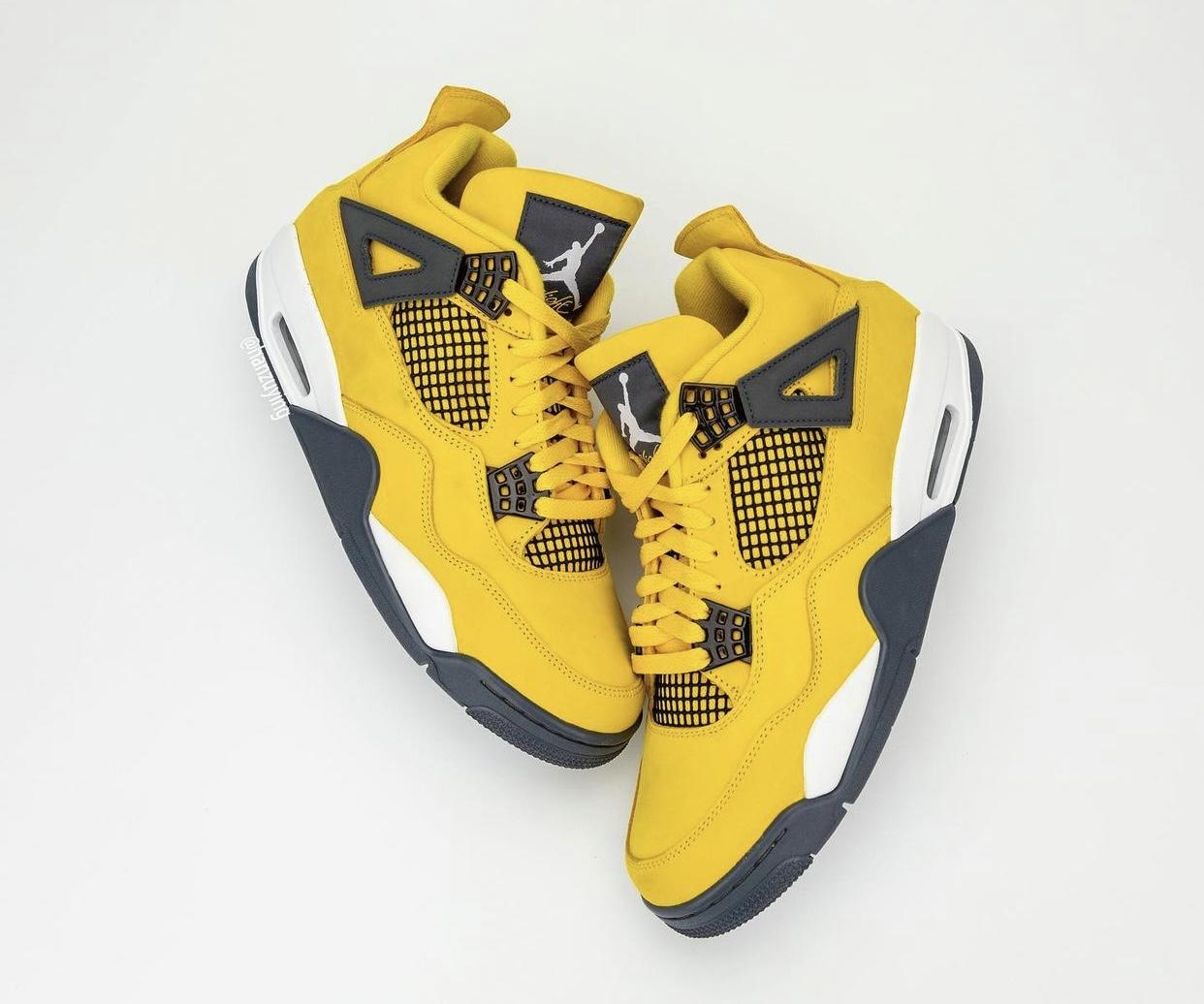 Nike,Air Jordan 4,Jordan Brand   天价鞋今年回归!电母AJ4复刻日期曝光
