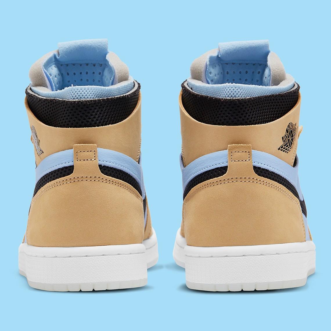 Nike,Air Jordan 1 ZMFT,曝光  清新冰蓝色调 + 芝麻!最爽脚感 Air Jordan 1 新配色曝光!