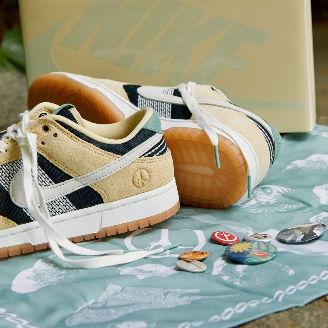 Nike,Dunk Low,DJ4671-294  赠品超多!全新「刺子绣 2.0」Dunk Low 即将发售!