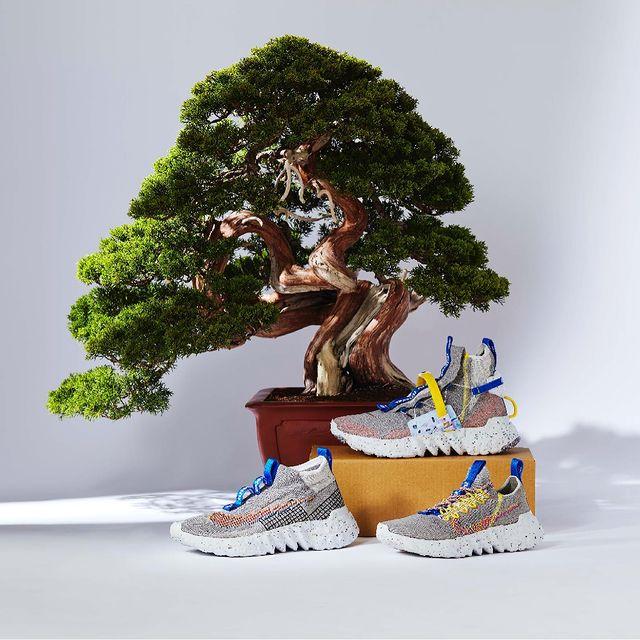 Nike,Space Hippie,CZ6148-003,C  黄蓝撞色太吸睛!三款全新 Space Hippie 即将发售!