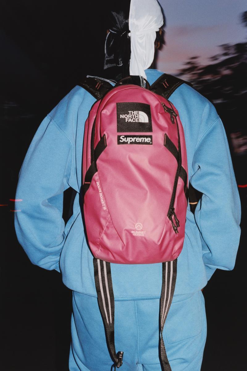 Supreme,TNF  潮流圈最期待的联名!Supreme x TNF 新品即将发售!