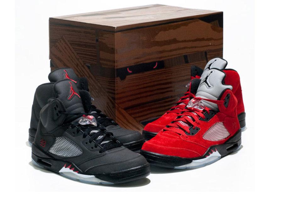 Air Jordan 5,AJ5,Raging Bull,D  时隔 12 年复刻!愤怒的公牛 AJ5 现已上架 SNKRS!