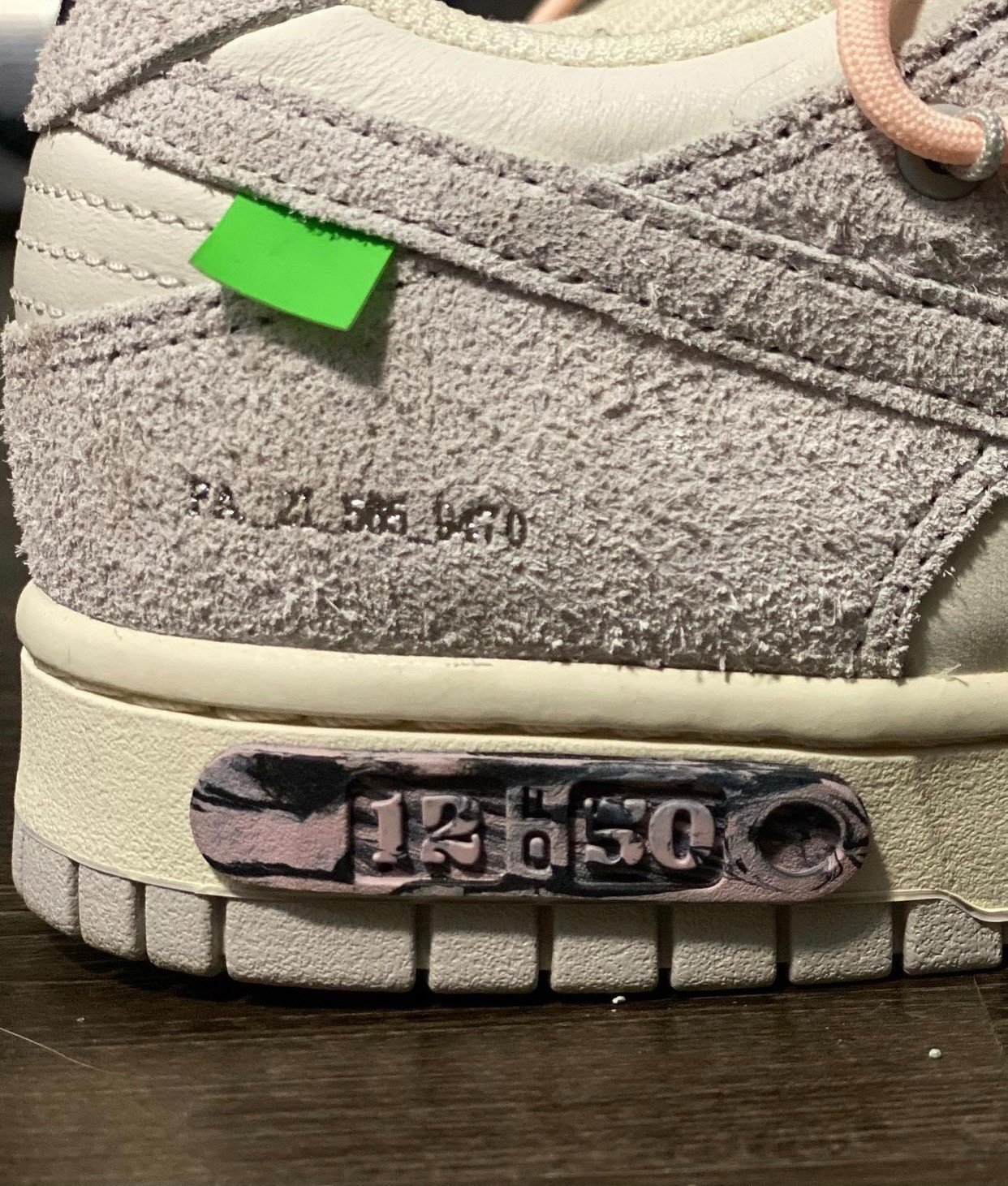 OFF-WHITE,Nike,Dunk Low,发售  「THE 50」OW x Dunk Low 又有新配色!专属鞋盒首次曝光!