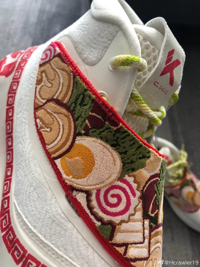 安踏,KT6,GH2,水花 3,发售  汤面、披萨... 美食配色「夏日限定」鞋来了!看着就眼馋!