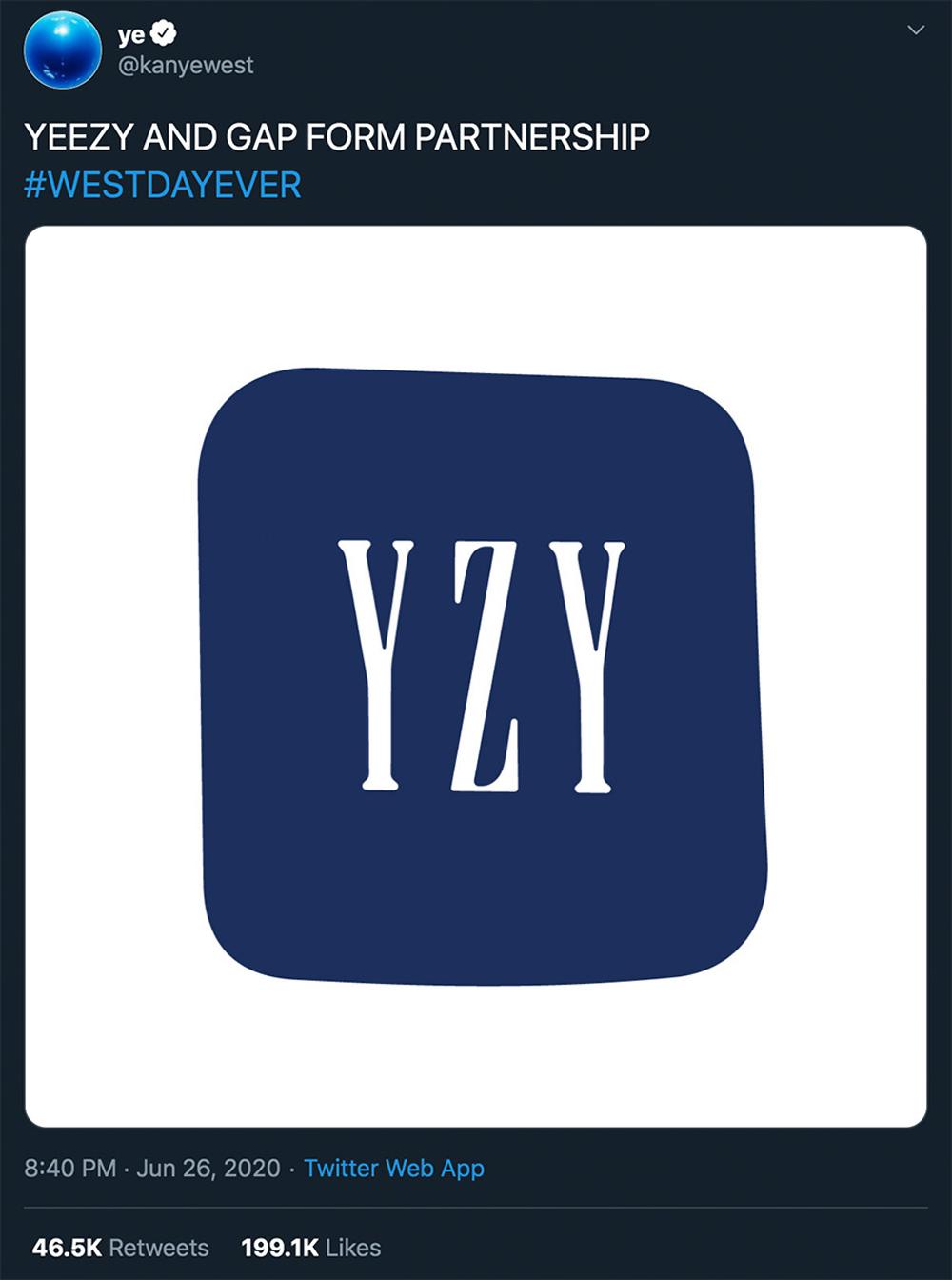 发售,Gap,Yeezy  不鸽了?!Gap x Yeezy 确认下月发售!一律三百块!