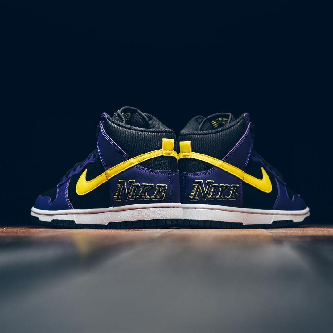 复古湖,人,配色,全新,Dunk,即将,发售,今年,Dunk  复古湖人配色!全新 Nike Dunk Hi 即将发售!