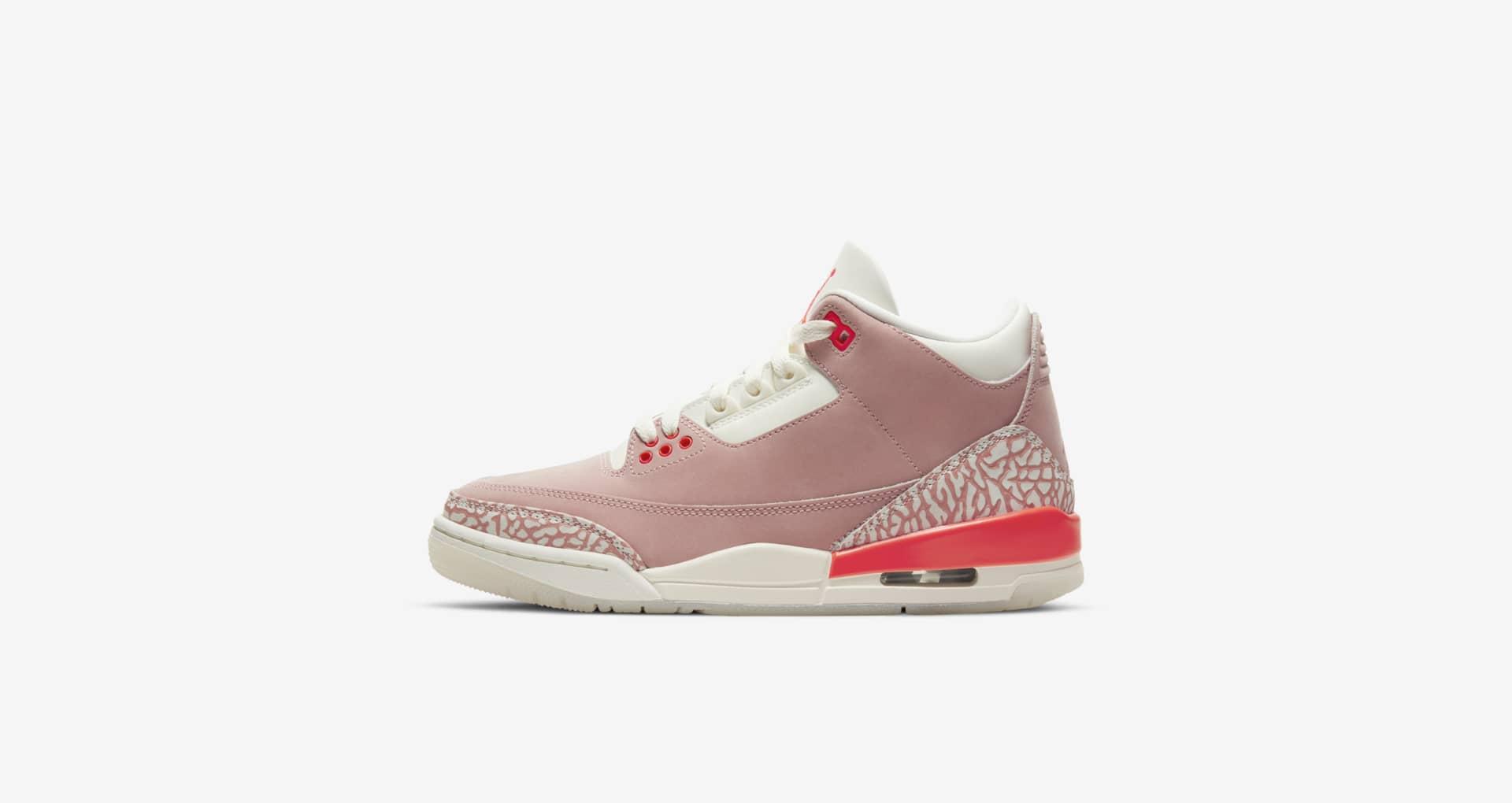 Nike,Air Jordan 3,AJ3  猛男必备!「骚粉」AJ3 上架 SNKRS!但是......
