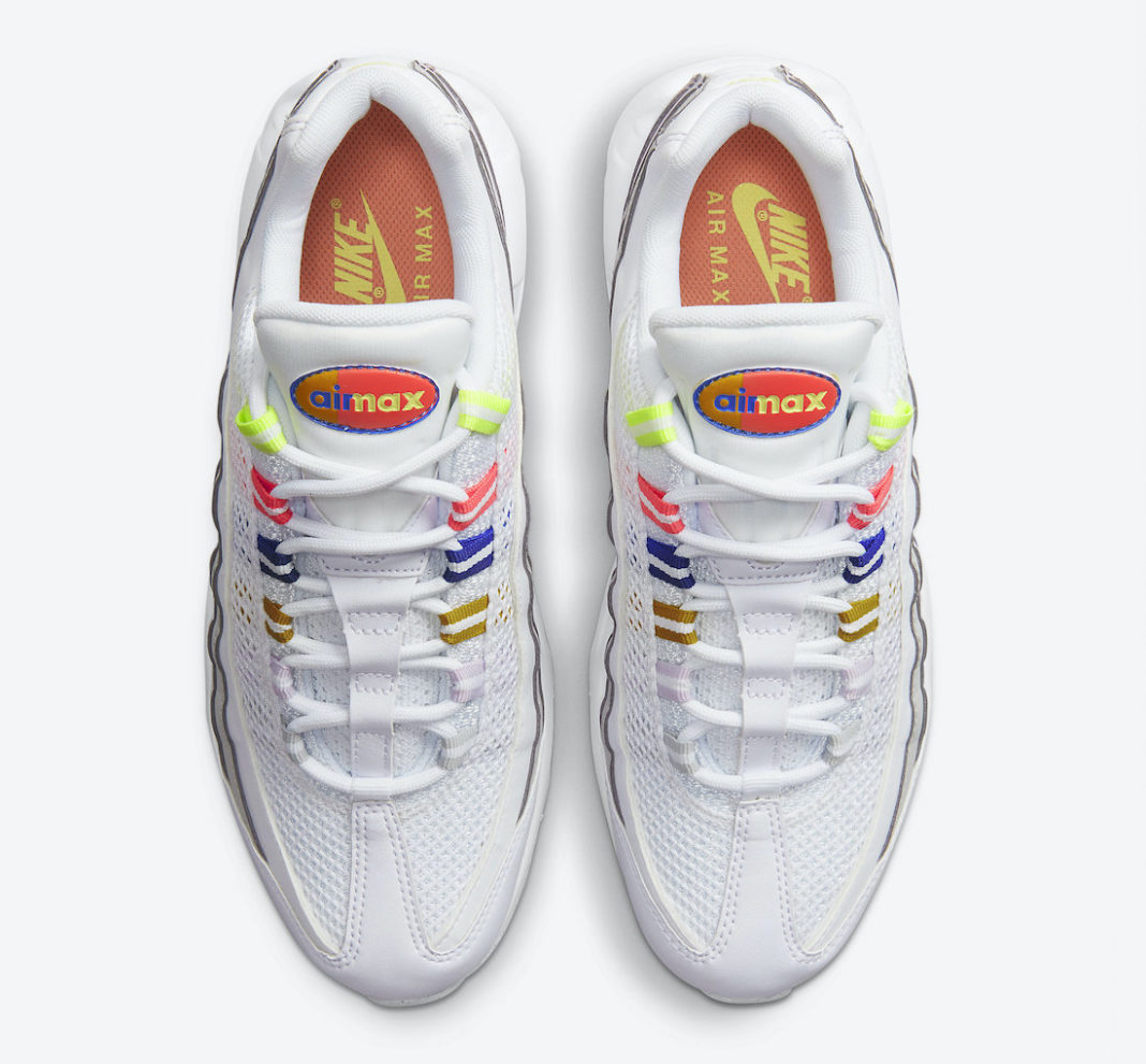 Nike,Air Max 95,DH5722-100  抢眼渐变配色!全新 Air Max 95 官图曝光!