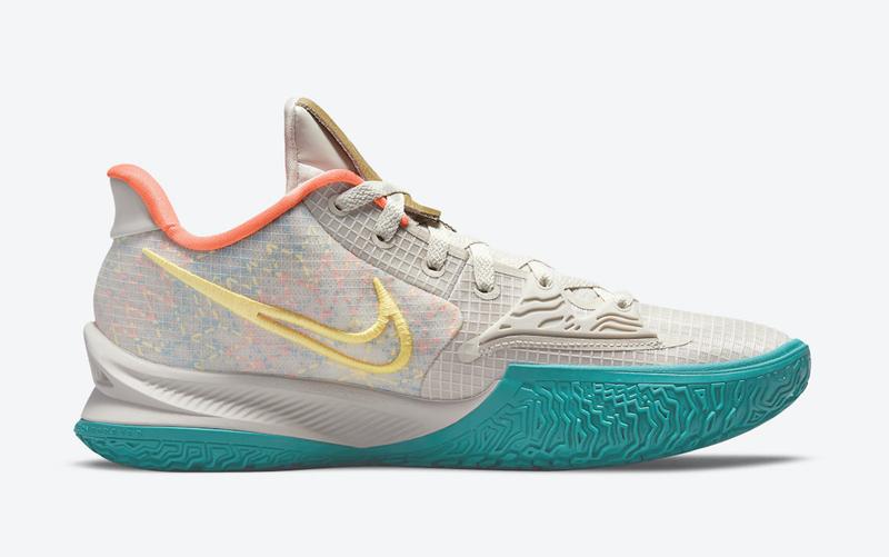 "Nike,Kyrie Low 4,欧文,N7  欧文部落主题!Nike Kyrie Low 4 ""N7"" 官图曝光!"