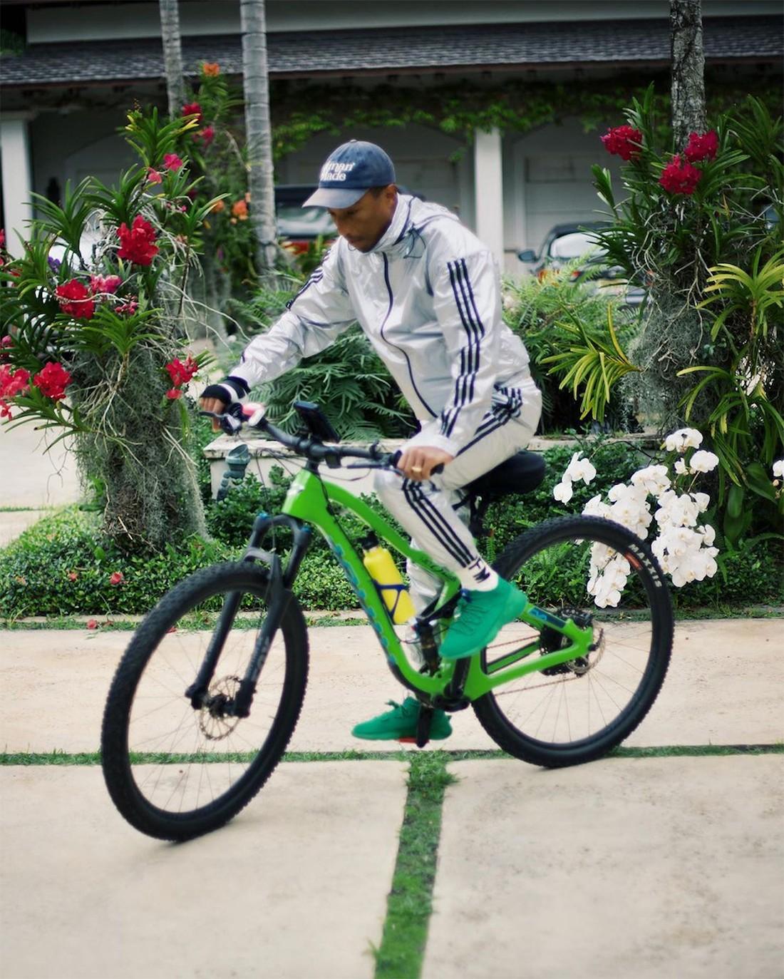 adidas,Pharrell,adidas Humanra  菲董全新联名曝光!第一双就是亲友限定!