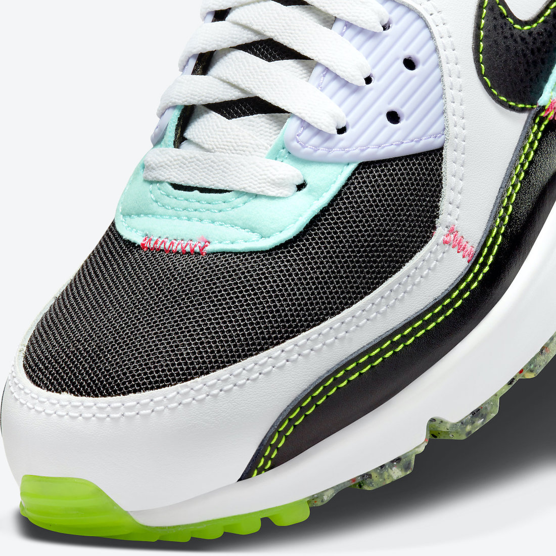 Air Max 90,Nike,曝光  黑白撞色设计 + 解构风!Air Max 90 全新配色曝光!