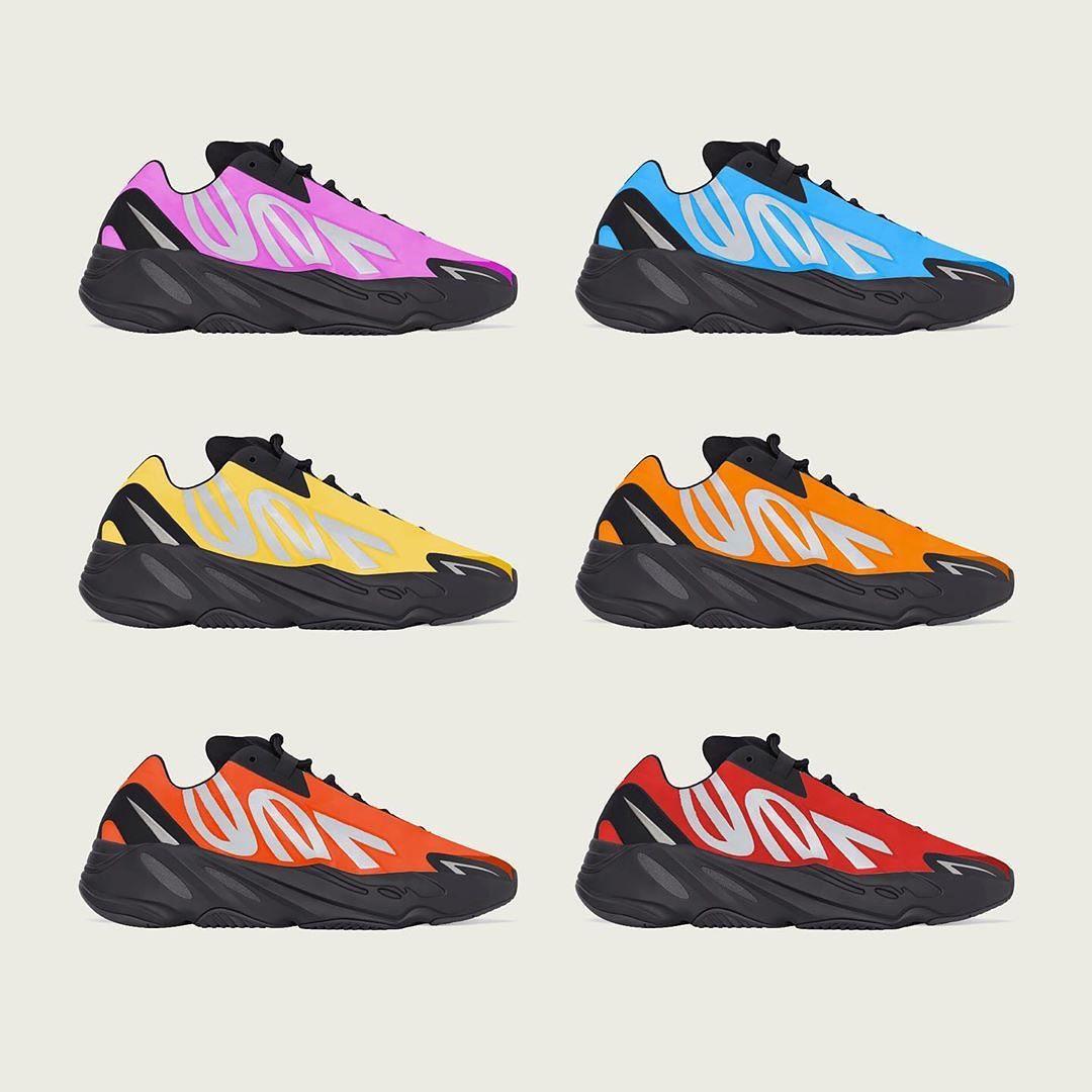 Yeezy 700 MNVN,adidas,曝光   调色盘玩法实锤!全新 Yeezy 700 MNVN上脚图曝光!