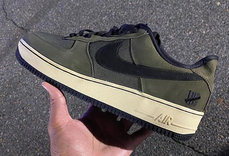 Undefeated,Nike,Air Force 1 Lo  上半年「王炸」UNDFTD x Nike 下月发售!亲友版本曝光!