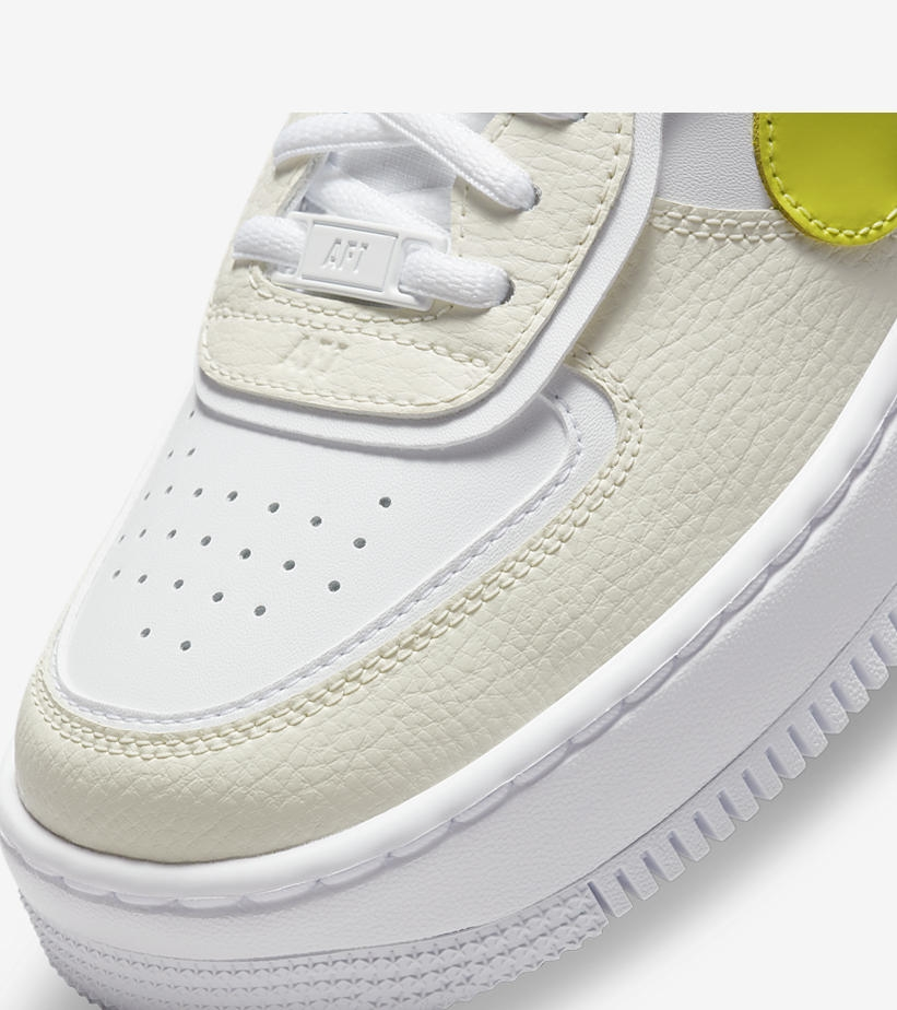 Nike,Air Force 1,DJ5197-100  Swoosh 上挂吊坠!全新配色 Air Force 1 即将发售!