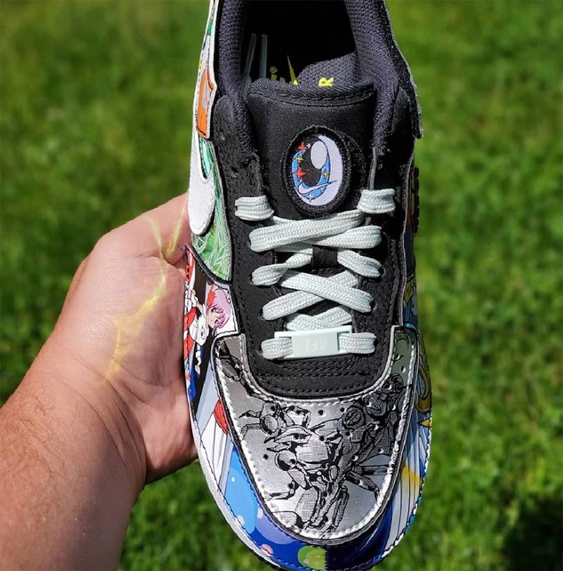 Nike,Air Force 1/1,Nike and th  萌妹子二次元!「拼接怪」AF1 新配色曝光!从头到尾都是亮点!