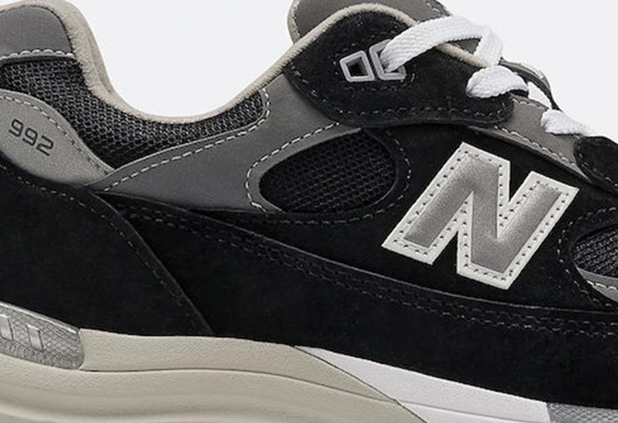 New Balance,992,发售  低调黑灰装扮!New Balance 992 新配色现已发售!