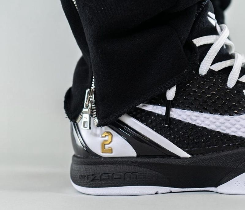 "Nike,Kobe 6 Protro,Mamba Forev  满满的致敬细节!Kobe 6 ""Mamba Forever"" 最新上脚图曝光!"