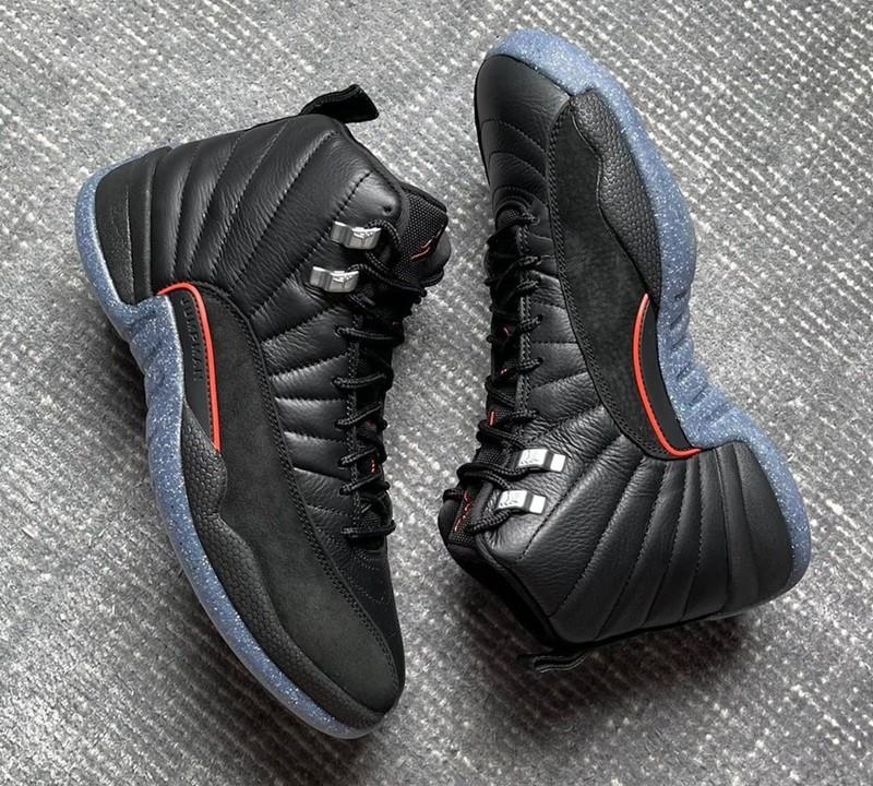 AJ,AJ12,Air Jordan 12,Utility,   「暗黑」造型太帅了!Air Jordan 12 新配色曝光!