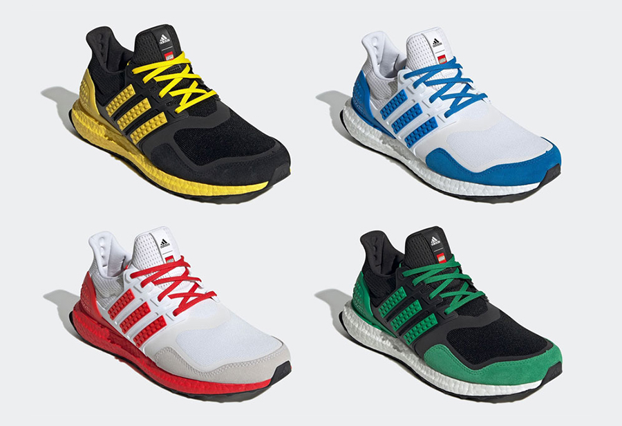 LEGO,adidas Ultra Boost,发售  LEGO 积木加持带来全新感受!adidas 全新联名配色即将发售!