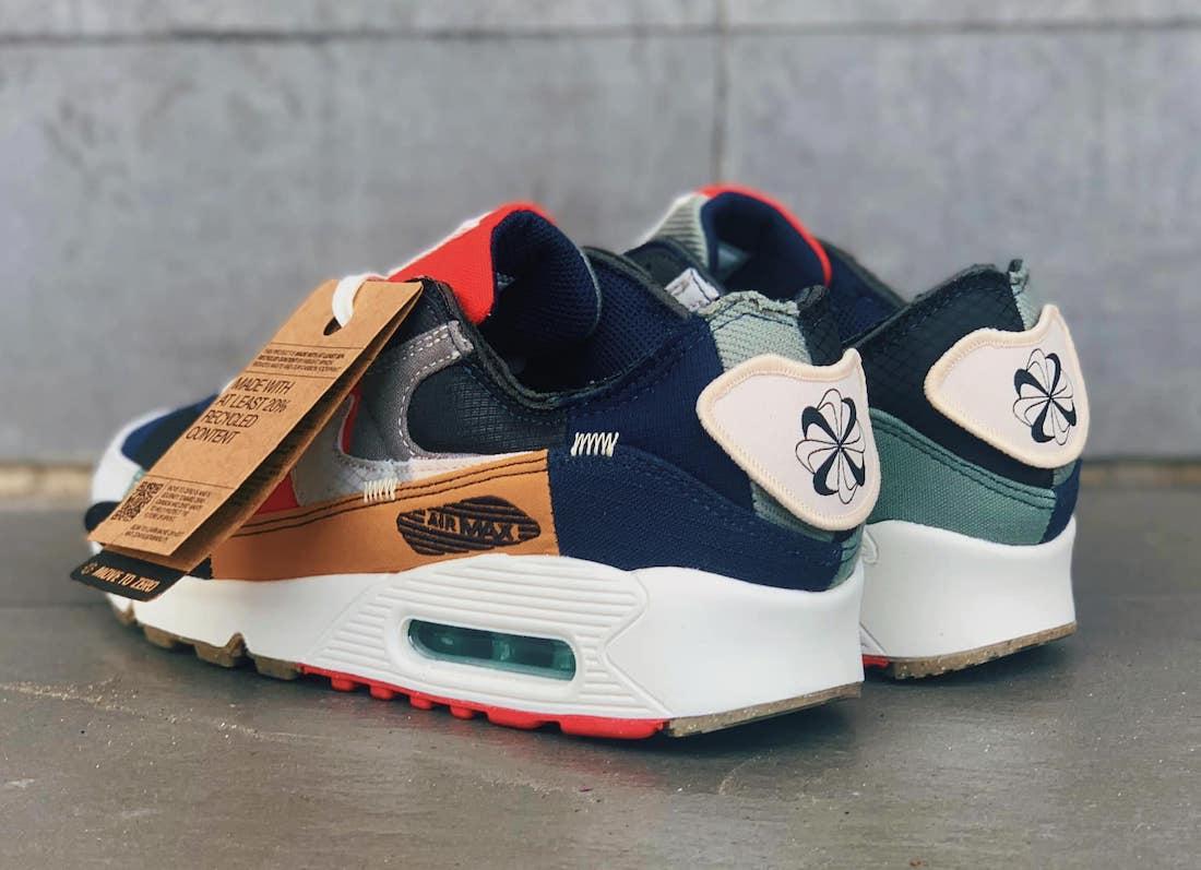 """Nike,Air Max 90,曝光  又一双 """"缝合怪"""" 要来了?全新 Air Max 90 实物图曝光!"""