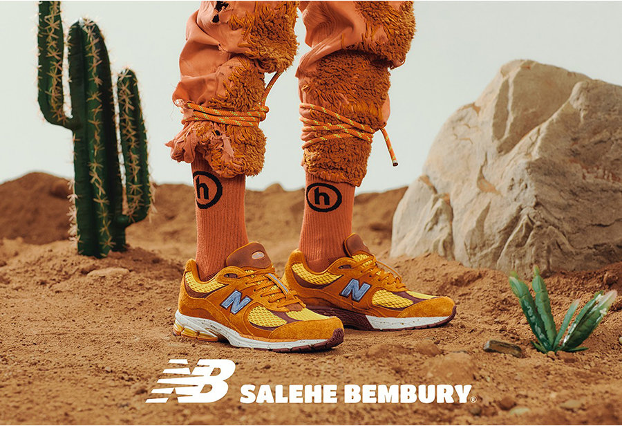 New Balance,Salehe Bembury,曝光  范思哲设计师再次操刀设计!New Balance 全新联名鞋款实物图曝光!